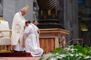 Homily of his Holiness Pope Francis: Holy Mass with priestly ordinations