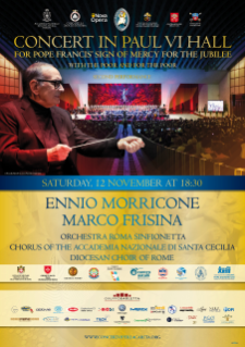 Ennio Morricone for Pope Francis' Jubilee Sign of Mercy