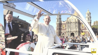 Angelus: Apostolic journey of his Holiness Pope Francis to Mexico